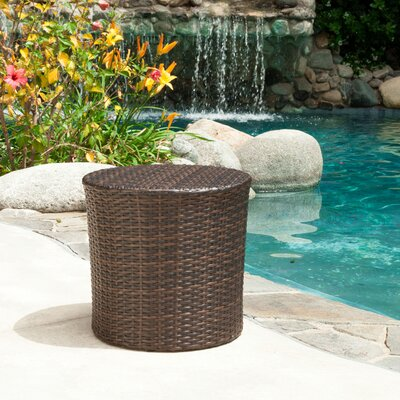 Bundine Outdoor Wicker 3 Piece Lounge Seating Group
