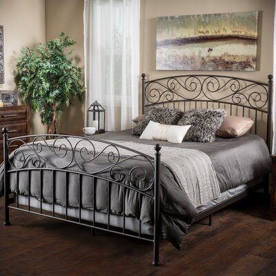 Burchette Queen Platform Bed with Mattress
