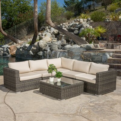 Vanbuskirk 6 Piece Seating Group with Cushion