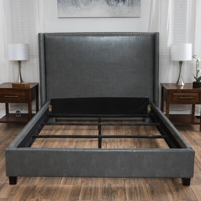 Hagins Upholstered Panel Bed Size: Queen