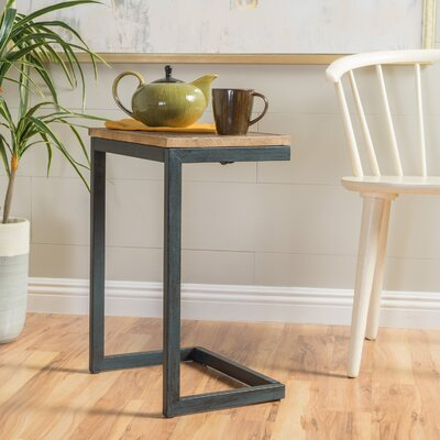 Nayara Antique End Table Size: Medium