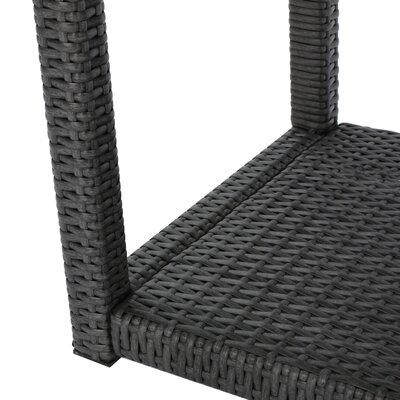 Wooldridge Outdoor 3 Piece Rattan Sofa Set