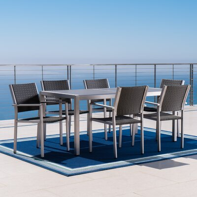 Fonda 13 Piece Silver Deep Seating Group with Cushion