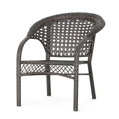 Kinneret Outdoor 3 Piece Rattan Conversation Set