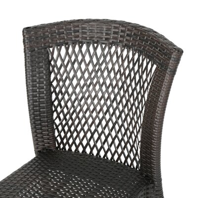 Woolard Outdoor Wicker 3 Piece Lounge Seating Group