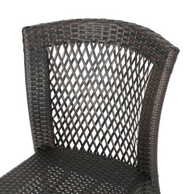 Wozniak Outdoor Wicker 3 Piece Lounge Seating Group