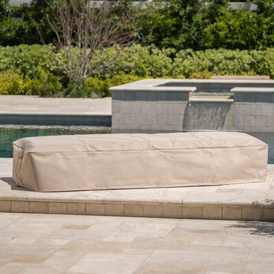 Outdoor Waterproof Fabric Chaise Lounge Cover