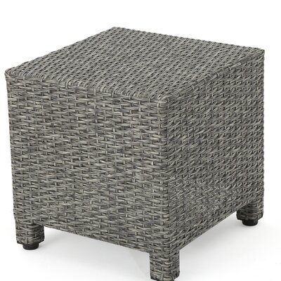 Nicolino End Table Color: Mixed Black