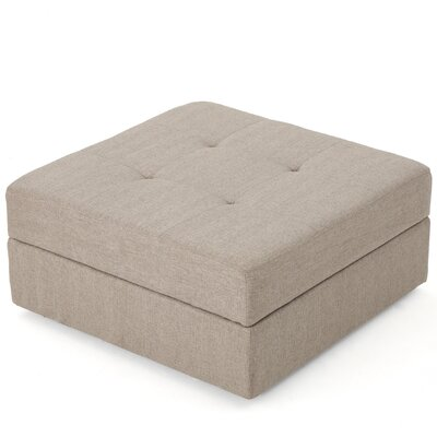 Mattingly Storage Ottoman Upholstery: Grain