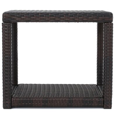 Phelps Outdoor Wicker 3 Piece Lounge Seating Group