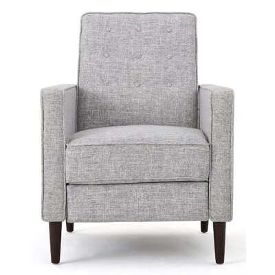 Russo Recliner Color: Light Gray