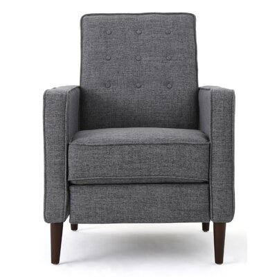 Russo Recliner Color: Gray