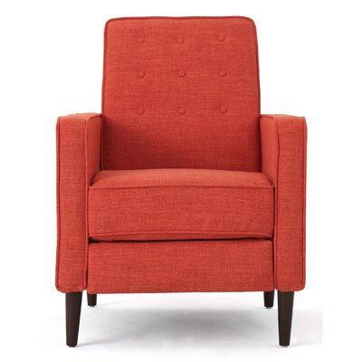 Russo Recliner Color: Orange