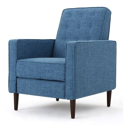 Russo Recliner Color: Muted Blue