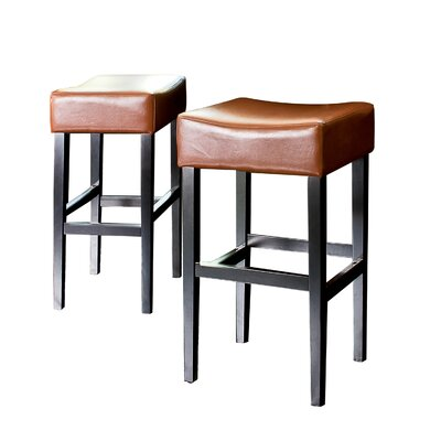 No credit check financing Classic Backless Leather Bar Stool ...