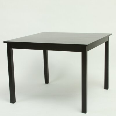 Easy financing Dining Table Finish: Black...