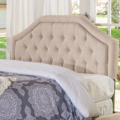 Brook Farm King Upholstered Headboard Upholstery: Light Beige