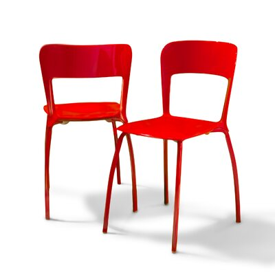 Rent to own Modern Side Chair (Set of 2) Finish...