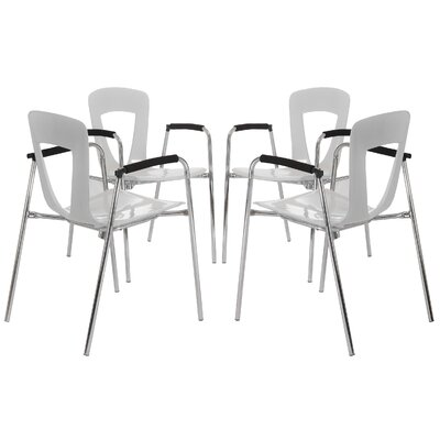 Easy financing Kennedy Arm Chair (Set of 4) Finish...