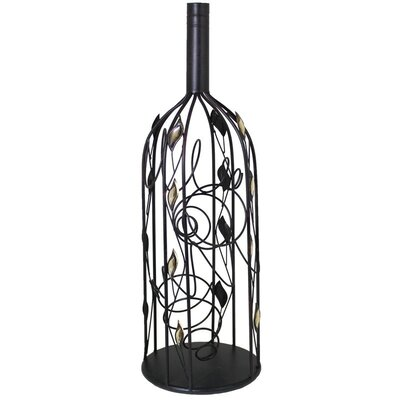 Metal 2 Bottle Tabletop Wine Bottle Rack