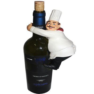 Chef 1 Bottle Tabletop Wine Rack