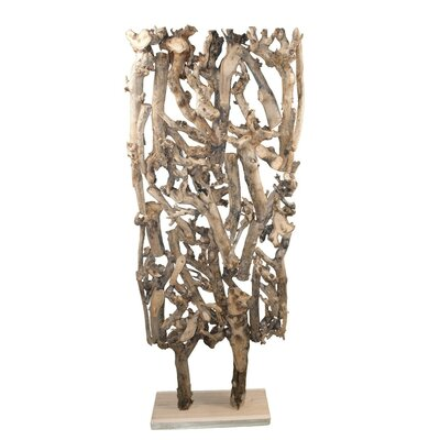 Decorative Mulburry Root Sculpture