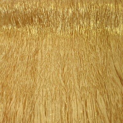 Print Organza Color: Gold