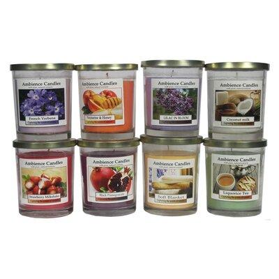 Glass Jar Scent Candle EN112004-CoconutMilk