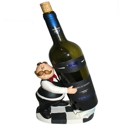 Waiter 1 Bottle Tabletop Wine Rack