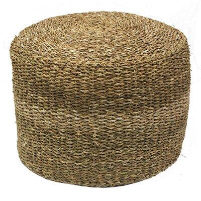 Seagrass Round Pouf Ottoman