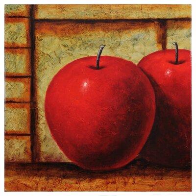 Apples in Dark Room Painting EN2646