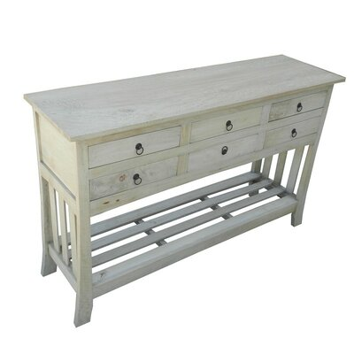 Console Table Finish: Natural
