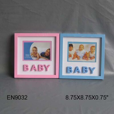 Baby Picture Frame Color: Blue EN9032-Blue