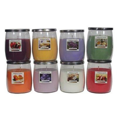 Glass Jar Scent Candle EN112003-FrenchVerbena
