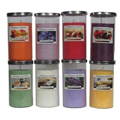 Glass Jar Scent Candle EN112001-FrenchVerbena