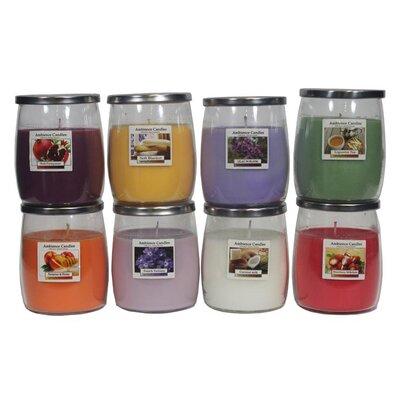Glass Jar Scent Candle EN112003-Nectarine-Honey