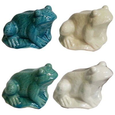 Ceramic Frog Figurine EN112862-Green