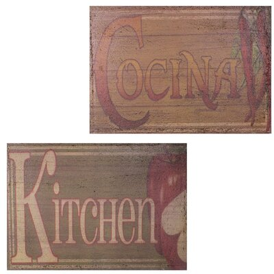 'Kitchen' Textual Art EN18039-Kitchen