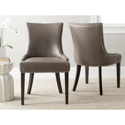 Cutler Genuine Leather Upholstered Dining Chair