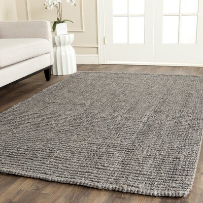 Greene Hand-Woven Gray Indoor Area Rug Rug Size: Rectangle 10 x 14