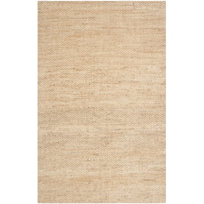 Worley Hand Woven Natural Area Rug Rug Size: 5' x 8'
