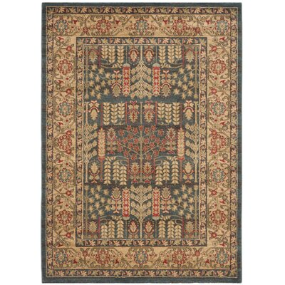 Coleraine Brown Area Rug Rug Size: Rectangle 22 x 4