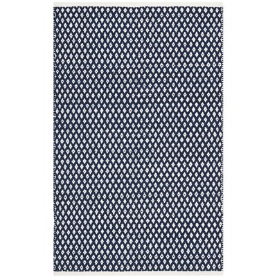 Ash Navy Area Rug Rug Size: Rectangle 3 x 5