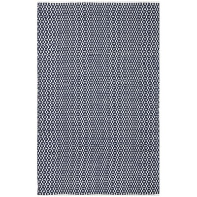 Ash Navy Area Rug Rug Size: Rectangle 5 x 8