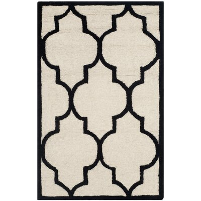 Charlenne Hand-Tufted Area Rug Rug Size: Rectangle 26 x 4