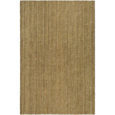Gaines Hand-Woven Natural Area Rug Rug Size: Rectangle 6 x 9
