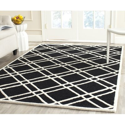 Martins Hand-Tufted Wool Area Rug Rug Size: Rectangle 4 x 6