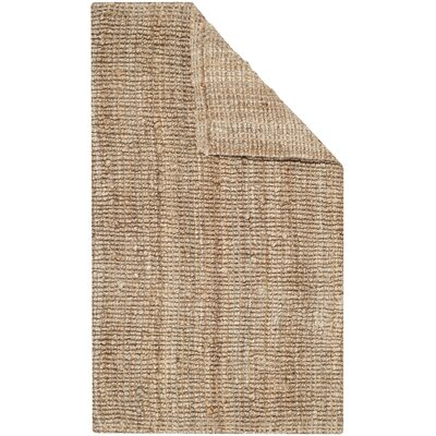 Gaines Hand-Woven Natural Area Rug Rug Size: Rectangle 3 x 5
