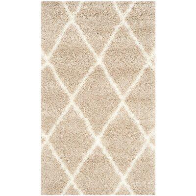 Macungie Trellis Beige Indoor Area Rug Rug Size: Rectangle 3 x 5