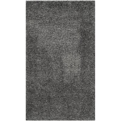 Maya Handmade Dark Gray Area Rug Rug Size: Rectangle 3 x 5